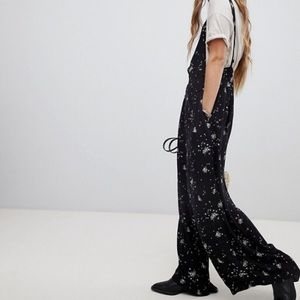 "Free People ""Sweet in the Streets"" Floral Jumpsuit"